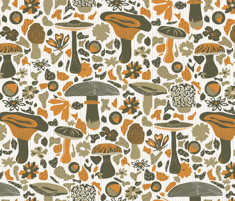 Like a Fall fabric by demigoutte on Spoonflower - custom fabric