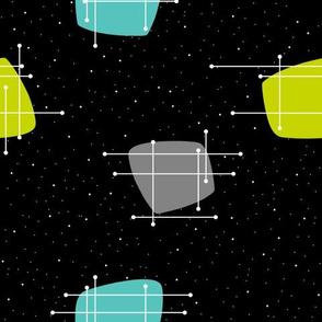 Orbit (Lime/Aqua/Grey)