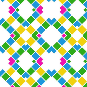 Colorblock Lattice
