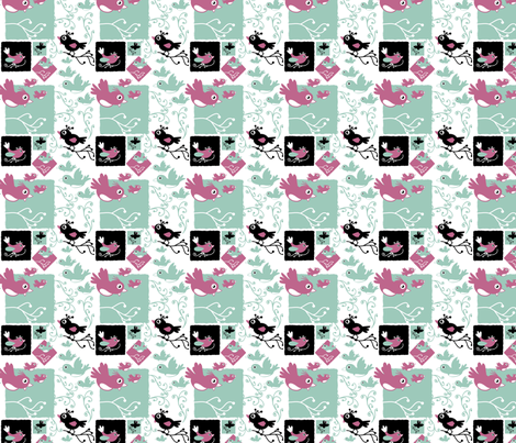 Chirping fabric by scifiwritir on Spoonflower - custom fabric