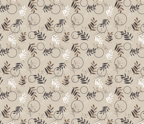 LaraGeorgine_autumn fabric by larageorgine on Spoonflower - custom fabric
