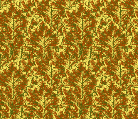 Autumn_Falls_Too_Soon fabric by lisa_binion on Spoonflower - custom fabric