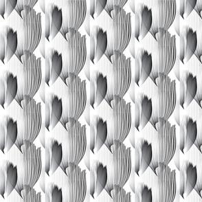 B-W_Feather_Pattern_Tile