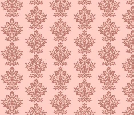 pink_baroque fabric by kanamithedreamer on Spoonflower - custom fabric