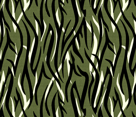 Bengalesque Camo fabric by glimmericks on Spoonflower - custom fabric