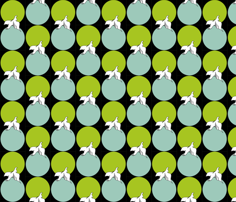 Gallo Doves fabric by jillstraw on Spoonflower - custom fabric