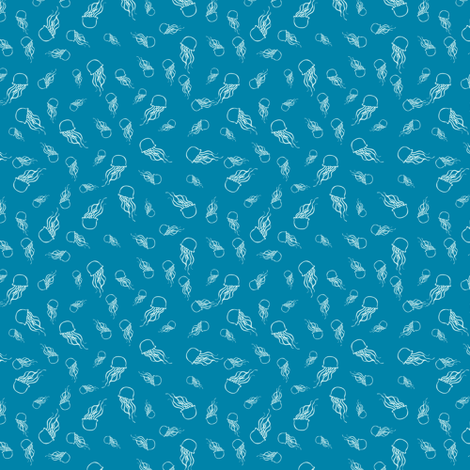 Jellyfish fabric by alison-castaldo on Spoonflower - custom fabric