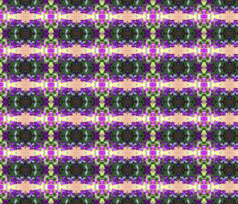 Pansies Abstract fabric by ogopogie on Spoonflower - custom fabric