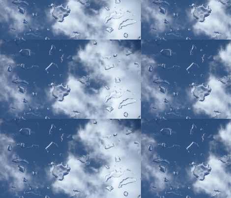 Skyrain 2 fabric by ogopogie on Spoonflower - custom fabric