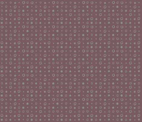 Lovely_Gray_dots fabric by gsonge on Spoonflower - custom fabric