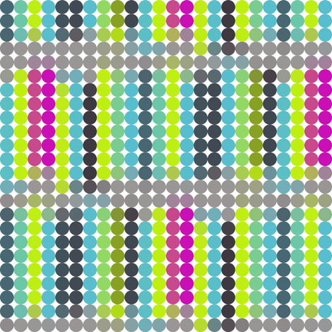 Dot Dot in Tiny MulitColor fabric by bluenini on Spoonflower - custom fabric