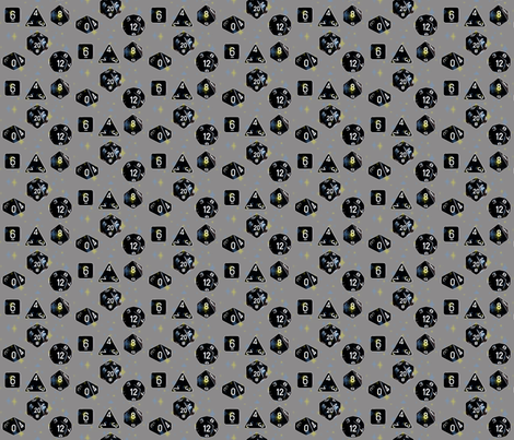 polyhedrals fabric by kortnee on Spoonflower - custom fabric