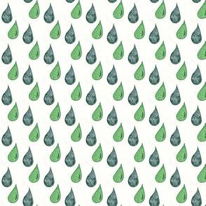 knitdrops green