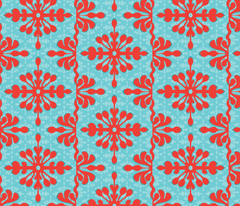 Hawaiian Getaway fabric by wildnotions on Spoonflower - custom fabric