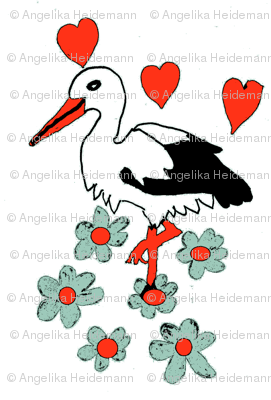 Stork in Love