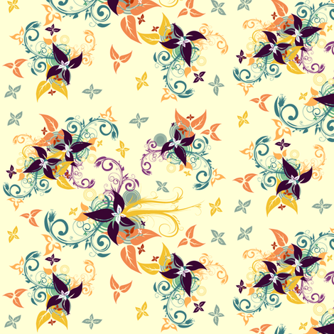 Bitsy Ditsy fabric by khulani on Spoonflower - custom fabric