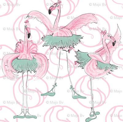 Ballet basics by Mes Dames Flamingoes