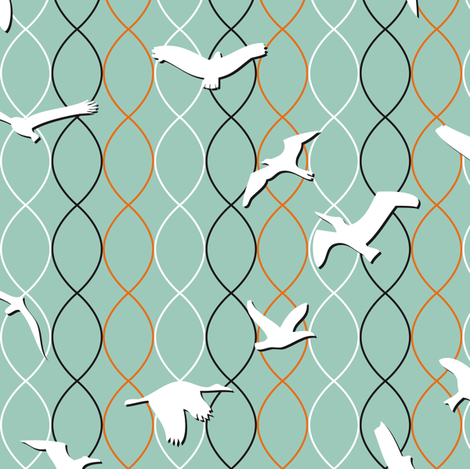 vogelfrei fabric by annosch on Spoonflower - custom fabric