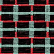 wide stripe wired plaid blue_and_red