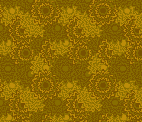 Dead Fall Flowers fabric by modgeek on Spoonflower - custom fabric