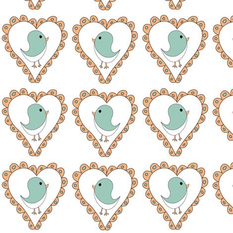Birds2 fabric by ghennah on Spoonflower - custom fabric