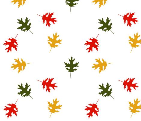 FallingLeaves fabric by ineedewe on Spoonflower - custom fabric