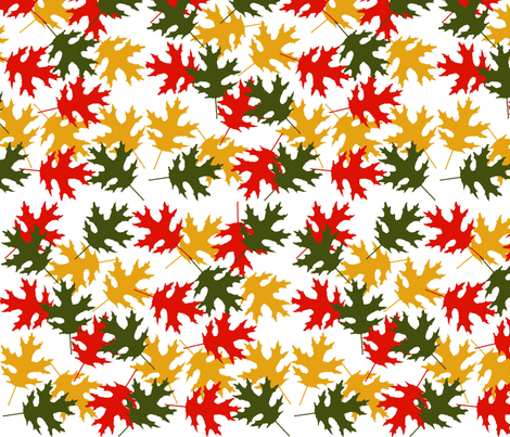 FallingLeavesinaStorm fabric by ineedewe on Spoonflower - custom fabric