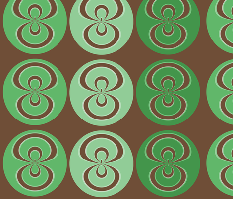 Retro Swirl  fabric by icarpediem_ on Spoonflower - custom fabric