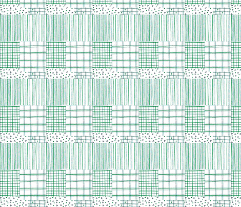 fiber pen tartan lilac-ch fabric by mimi&me on Spoonflower - custom fabric