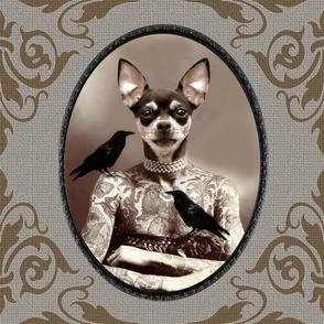 Lydia the Tattooed Doggie