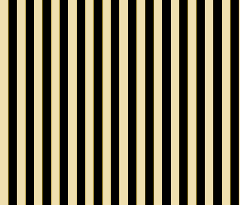 "3/4"" Off White, Black And Tiny Olive Stripe fabric by ophelia on Spoonflower - custom fabric"