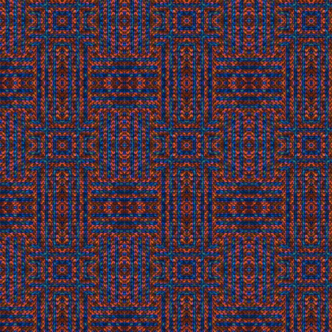 Berry Woven Look Plaid  fabric by gingezel on Spoonflower - custom fabric