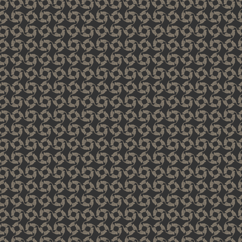 Tag You're It!  (gray tan) fabric by glimmericks on Spoonflower - custom fabric