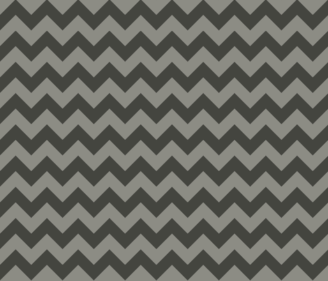 Charcoal Ziggy fabric by natitys on Spoonflower - custom fabric