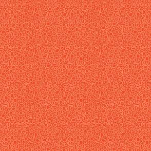 Pebbles - tangerine