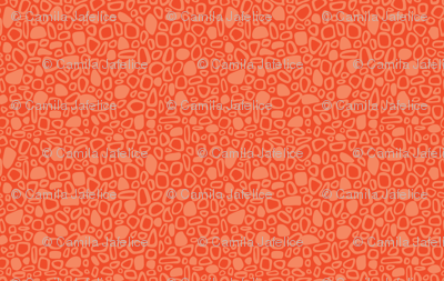 Small Pebbles - tangerine