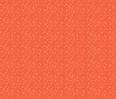 Small Pebbles - tangerine fabric by noaleco on Spoonflower - custom fabric
