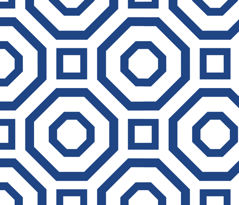 Geometry Royal fabric by alicia_vance on Spoonflower - custom fabric