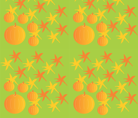 Autumn Design fabric by compugraphd on Spoonflower - custom fabric