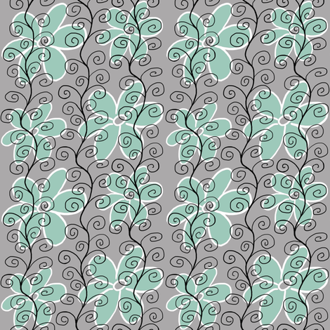 Funky Scroll fabric by angelaanderson on Spoonflower - custom fabric