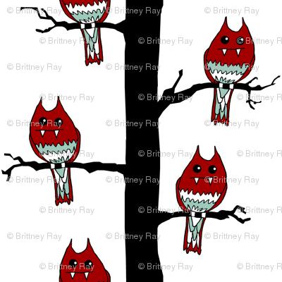 Red Monster Birds