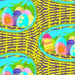 Easter Eggs Nest