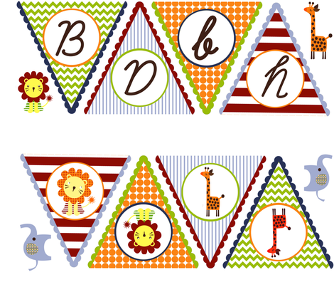 Baby Banner fabric by natitys on Spoonflower - custom fabric