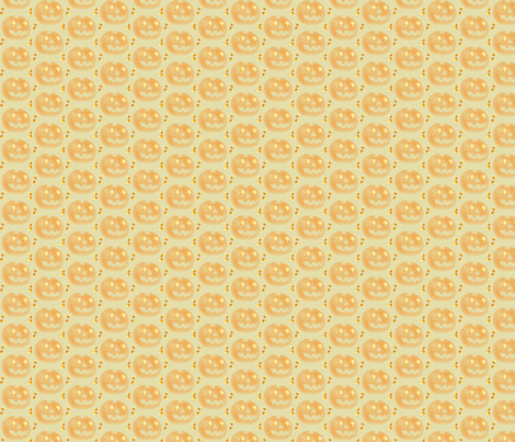 jack-o-lantern-ed fabric by readerwoman on Spoonflower - custom fabric