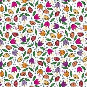 Ladybugs A' Tiptoein'