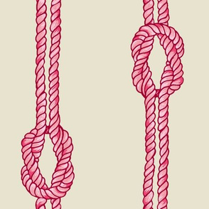 Knotted Rope - Tropical Pinks