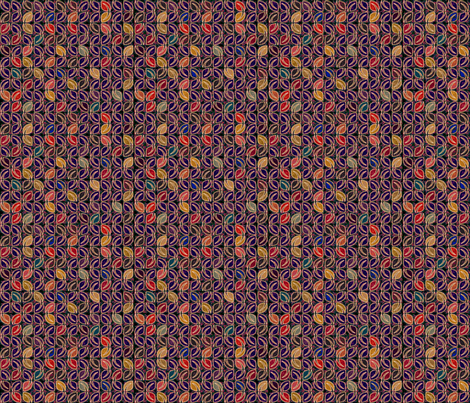 Fallen Jewels - Cool fabric by glimmericks on Spoonflower - custom fabric
