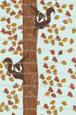 Climbing Squirrels