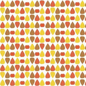 Autumn Leaves Apples