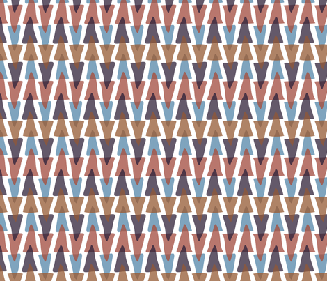 acute stripe (small scale) in fruit pie fabric by burjeune on Spoonflower - custom fabric